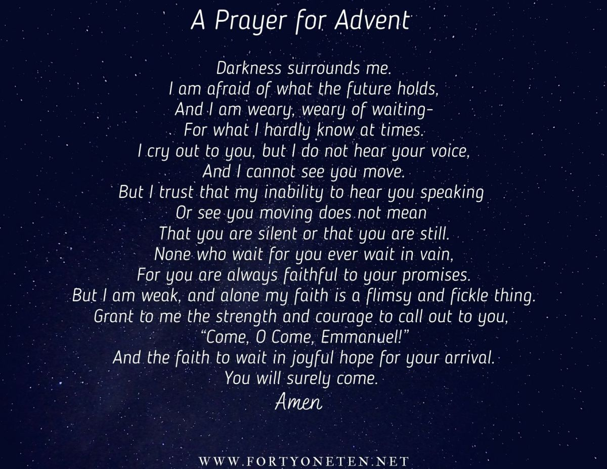 A Prayer for Advent, 2020